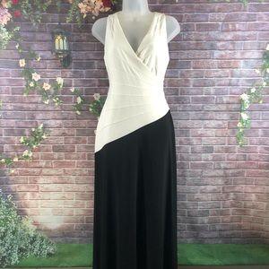 Ralph Lauren Wrap Belted Sleeveless Maxi Dress